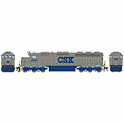 Athearn Genesis G86220 - HO SD45-2 - DCC/Sound - CSX (Solid Grey) #8951