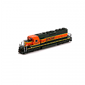 Athearn 98808 HO EMD SD40 w/DCC & Sound, Chessie/WM #7546
