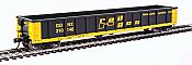 Walthers 6221 HO Scale - 53Ft Railgon Gondola - Ready To Run - Railgon GONX #310146