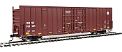 Walthers Mainline 2958 - HO 60ft Hi-Cube Plate F Boxcar - BNSF #761101