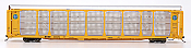 InterMountain 45280-01 HO - Bi-Level Auto Racks - BNSF Rack & Flat Car - Circle Logo #300100
