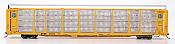 InterMountain 45280-04 HO - Bi-Level Auto Racks - BNSF Rack & Flat Car - Circle Logo #300309