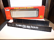 Atlas HO 70000037 HO Code 100 Through Plate Girder Bridge Kit, Single Track Canadian National