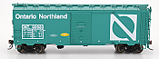 Intermountain 45799-06 HO Scale - 1937 AAR 40Ft Boxcar - w/ NSC-2 Ends - Ontario Northland #90945