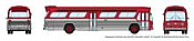 Rapido 573097 N - 1/160 New Look Bus - Generic Red