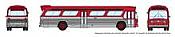 Rapido 573097 N - 1/160 New Look Bus - Generic Red