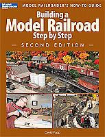 Kalmbach Publishing Co Book Building a Model Railroad Step by Step - Second Edition