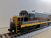 Bowser 24516 HO GE U25B w/LokSound & DCC - Executive Line  Erie Lackawanna #2516
