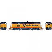 Athearn Genesis G82305 HO Scale - GP7 Diesel, w/ DCC & Sound - B&O/ Chessie #5610