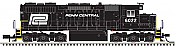 Atlas 10002780 HO - SD35 Low Nose - DCC & Sound - Master Gold -(black, white)- Penn Central #6014