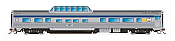 Rapido Trains 550110 - N Skyline Mid-Train Dome Coach - VIA Rail Canada, Original