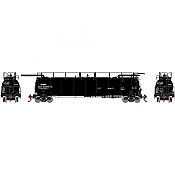 Athearn Genesis 67941 - HO 486 Series - TankTrain Intermediate - GATX/Black Small #28235