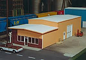 Pikestuff 7 HO Retail/Warehouse Center