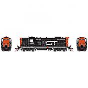 Athearn G62847 HO EMD GP9 Grand Trunk Western GT 4558 DCC Ready
