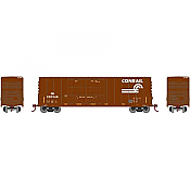 Athearn RND88137 HO Scale - 50Ft High Cube Double Door Plug Box - Conrail #220991