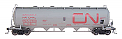 Intermountain Railway 48901-17 HO Procor Pressure Flow Hoppers Canadian National CN 374548