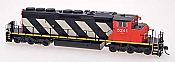 Intermountain 49301-09 HO Diesel EMD SD40-2W - ESU LokPilot DCC Installed-Canadian National #5243