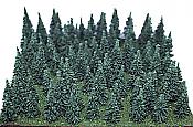 Heki/Mini Forest 309 HO Assorted Pine Trees