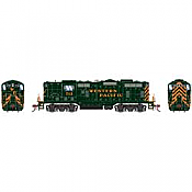 Athearn Genesis G82311 HO Scale - GP7 Diesel, w/ DCC & Sound - Western Pacific #713