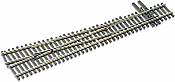Peco Code 83 SL 8381 Streamline #8 Insulfrog Turnout - Nickel Silver Right Hand, Insulfrog HO Scale Track