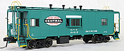 Tangent Scale Models 60119-04 - HO N7 Class Steel Bay Window Caboose - New York Central (Lot 782 Century Green Repaint w/ Large NYC Logo 1964+) #21696