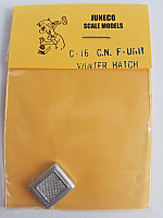 Juneco Scale Models C-16 Canadian National F-Unit Winter Hatch
