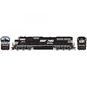 Athearn Genesis 70520 HO - SD70M, DCC Ready - NS/Flare w/ PTC #2604