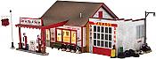 Woodland Scenics 5025 - HO Built-&-Ready Landmark Structures - Fill-er Up & Fix-er