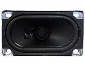 Soundtraxx 810090 - Oval Speaker - 2In x 3.5In, 8 Ohm 2 Watts