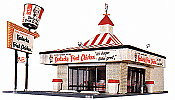 Walthers Life-Like 1394 HO Kentucky Fried Chicken(R) Drive-In