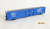 Tangent Scale Models 25018-05 HO - Greenville 86ft Double Plug Door Box Car - GTW Original 1977 #305861