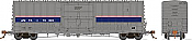 Rapido 137007-C HO Scale - B-100-40 Boxcar: Amtrak Phase 4 - Single Car #70030