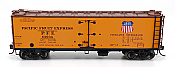 Intermountain 47415-16 HO Scale - R-30-21 Wood Refrigerator Car - PFE Single Herald #64711
