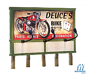 Woodland Scenics 5792 HO Billboard Deuces Parts and Repair