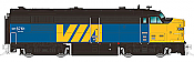 Rapido Trains 20519 HO True North Diesel FPA-4 - DCC & Sound VIA Rail Canada  #6774