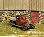 Sylvan Scale Models 315 HO Scale - 1927 Hudson Flatbed Truck - Unpainted and Resin Cast Kit