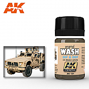 AK Interactive 121 OIF and OEF US Modern Vehicles Streaking Effects Enamel Paint 35ml