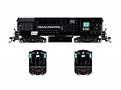 Rapido 044517 HO FM H16.44, With Sound & DCC, Penn Central Black Scheme No.5161