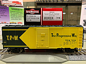 Intermountain 45839-02 HO Scale - 10Ft 6In Modified 1937 AAR Boxcar - Toledo, Peoria & Western #7022