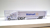 Trucks n Stuff TNS019 - HO Peterbilt 579 Sleeper Cab Tractor - 53ft Dry Van Trailer - Walmart