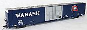 Tangent Scale Models 25034-06 - HO Greenville 86ft Double Plug Door Box Car - Wabash #55075