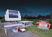 Walthers Cornerstone 3478 Skyview Drive-In HO Scale