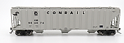 Intermountain 472210-01 HO Scale - 4785 PS2-CD Covered Hopper - Early End Frame - Conrail - Gray Quality Logo #886842