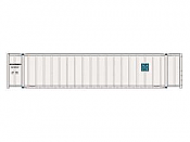 Intermountain A Line 30417-02 HO 48 Ft Smooth-Side Container 2-Pack - NACS  - NCCU 290834 - NCCU 291707