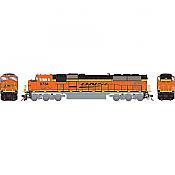 Athearn Genesis G64912 HO Scale - SD70MAC Diesel, w/ DCC & Sound - BNSF #9734