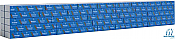 Walthers SceneMaster 3152 HO Scale - Wrapped Lumber Load for 72 FT Centerbeam Flatcar - Domtar
