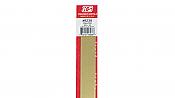 K&S Engineering 8238 All Scale - Brass Strip - 12inch x 3/4inch x .025inch