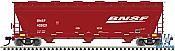 Atlas Model Railroad 20005524 HO 4650 Centerflow Hopper BNSF (Swoosh Logo) No.403650