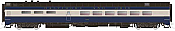 Rapido Trains 124016 HO Scale Pullman-Standard Lightweight Diner-Lounge Baltimore & Ohio #1083 Pre Order