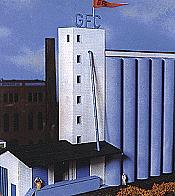 Heljan Plastic 806 HO Midwestern North America Grain Elevator